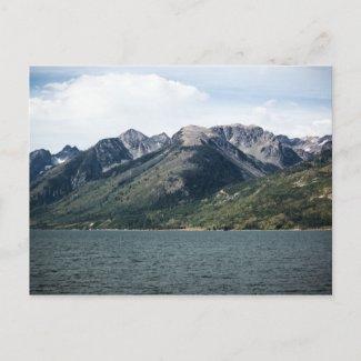 A Grand Range Postcard postcard