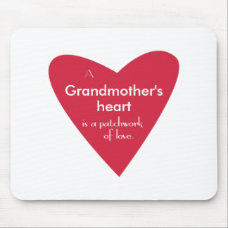 A Grandmother's Heart Mouse Pad