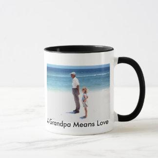 A Grandpa Means Love Mug