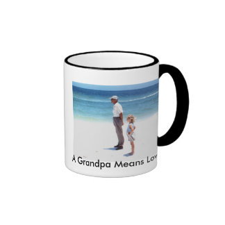 A Grandpa Means Love Ringer Mug