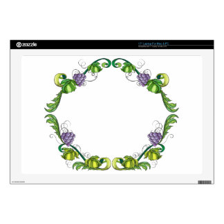 A grape vine border decals for laptops