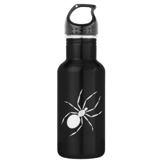 A Graphic of a Spider Stainless Steel Water Bottle