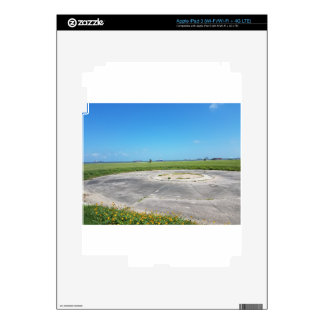 a grassy plain decal for iPad 3