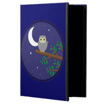 A Gray Owl Case For iPad Air