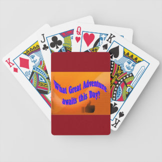 A Great Adventure Bicycle Playing Cards