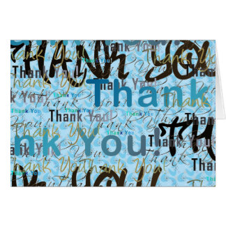 A Great Big THANK YOU Card