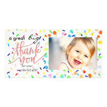 a great big thank you happy sprinkles card