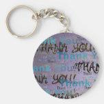 A Great Big THANK YOU keychain