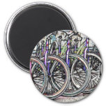 A great bike design fridge magnet