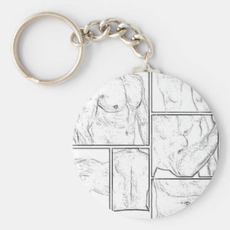 A great body image design basic round button keychain