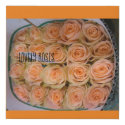 A great Canvas print with lovely roses