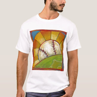 """A Great Day for Baseball"" t-shirt"