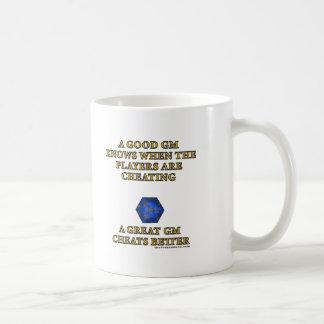 A Great DM Cheats Better Coffee Mug