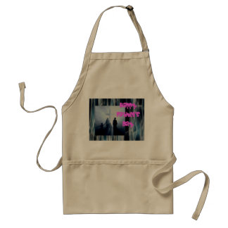 A great Fathers day wish Adult Apron