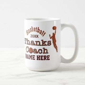 A Great Gift to Give to Your Basketball Coach Classic White Coffee Mug
