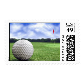 A great golf card to enjoy stamp