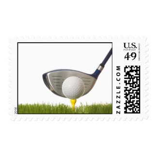 A great golf lover design postage