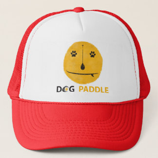 A great hat for dog loving paddleboarders!
