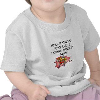 a great hockey mom design tee shirts