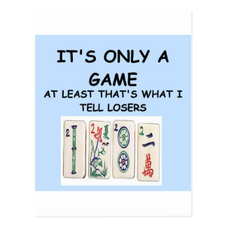a great joke about winning! postcard
