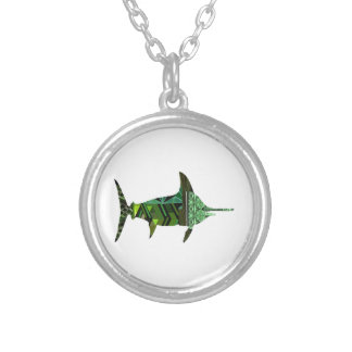 A GREAT MARINER SILVER PLATED NECKLACE