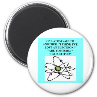 A Great Physics Design 2 Inch Round Magnet