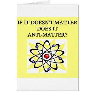 A Great Physics Design Card
