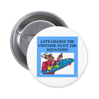 A Great Physics Design Pinback Button