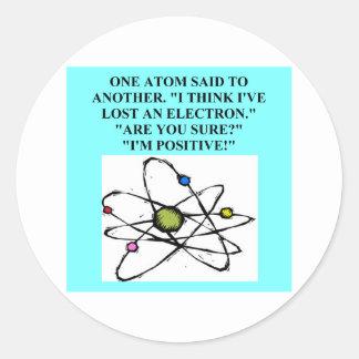 A Great Physics Design Classic Round Sticker