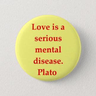 A great Plato quote Button