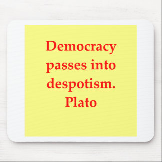 A great Plato quote Mouse Pad