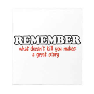 A great story note pad