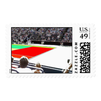 A great Tennis Lover Design Postage