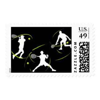 A great Tennis Lover Design Postage Stamp