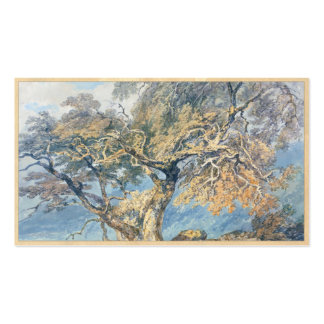 A Great Tree Joseph Mallord William Turner art Double-Sided Standard Business Cards (Pack Of 100)