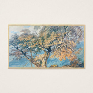 A Great Tree Joseph Mallord William Turner art Business Card