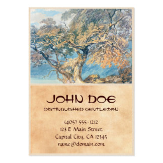 A Great Tree Joseph Mallord William Turner art Large Business Cards (Pack Of 100)