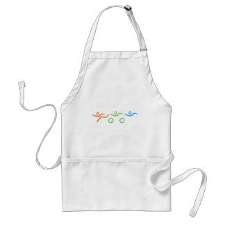 A great Triathlon gift for your friend or family Adult Apron