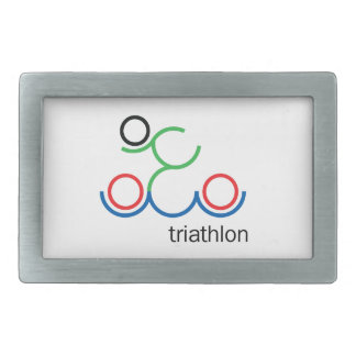 A great Triathlon gift for your friend or family Belt Buckle