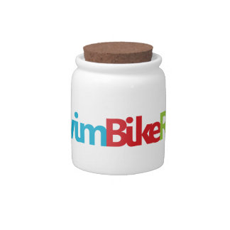 A great Triathlon gift for your friend or family Candy Jar