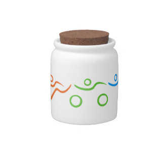 A great Triathlon gift for your friend or family Candy Jars