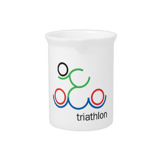 A great Triathlon gift for your friend or family Drink Pitcher