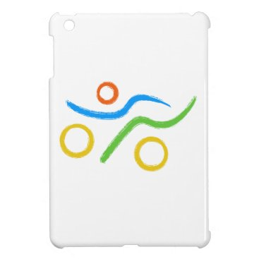 USA Themed A great Triathlon gift for your friend or family iPad Mini Cover