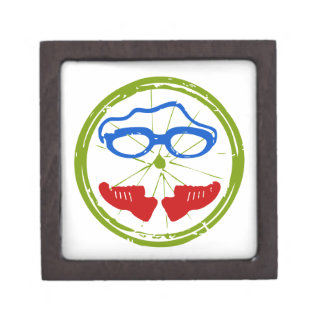 A great Triathlon gift for your friend or family Jewelry Box