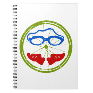 A great Triathlon gift for your friend or family Notebook