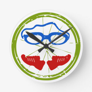 A great Triathlon gift for your friend or family Round Clock