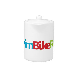 A great Triathlon gift for your friend or family Teapot