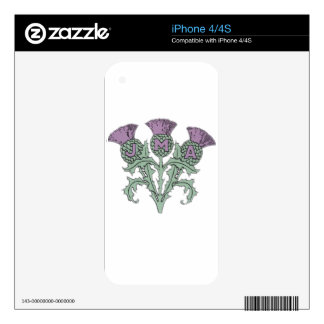 A great way to show your family pride. decal for the iPhone 4S