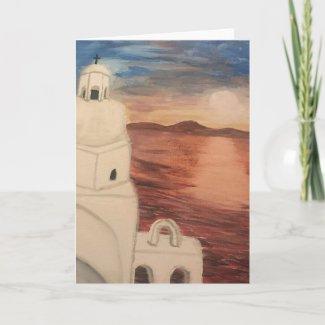 A Greek Island Card