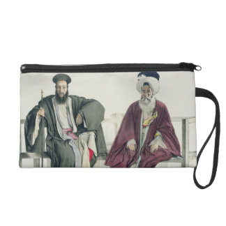 A Greek Priest and a Turk, engraved by the Thierry Wristlet Purses